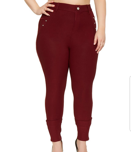 Curvy Scuba Jeggings