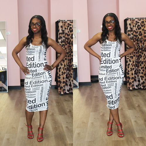 Limited Edition Bodycon Dress