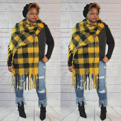Chunky Knit Scarf (Multiple Colors)