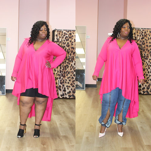 The Tammy Shirt/Dress (Multiple Colors)