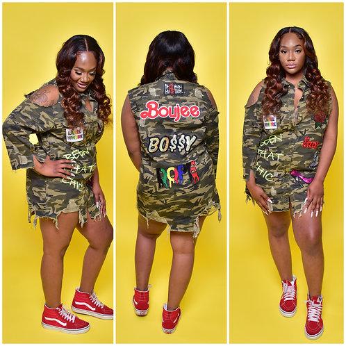 Custom Camo Jacket/Dress