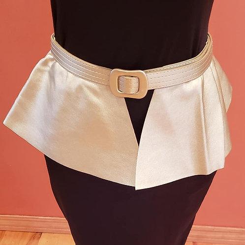 Faux Leather Peplum Belt (Multiple Colors)