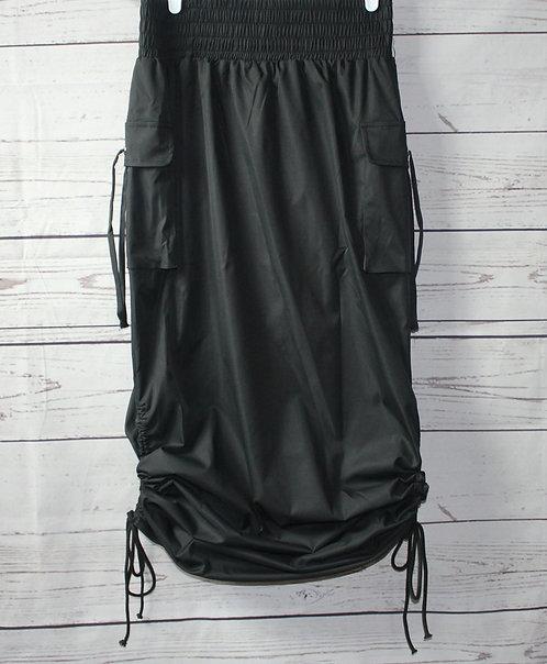 Cargo Windbreaker Skirt