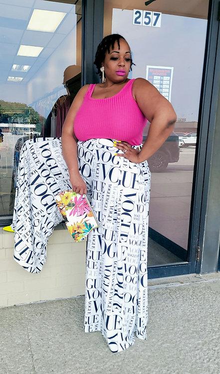 RESTOCKED Plus Vogue Pants