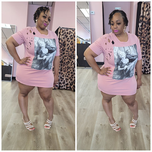 Marilyn and Tupac Tee/Dress (Multiple Colors)
