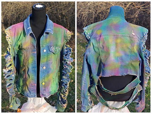Express Yourself Custom Denim Jacket