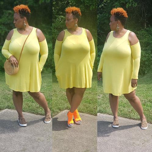 Mia Cold-Shoulder Dress