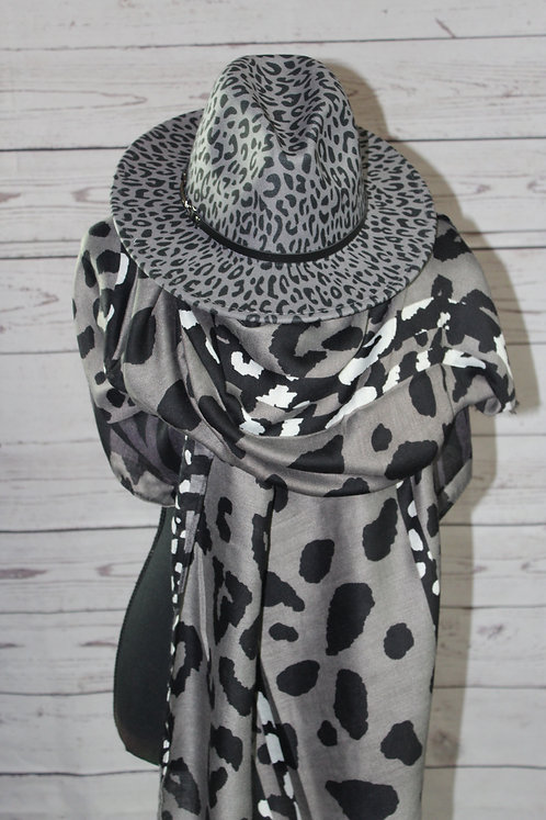 Leopard Fedora (Multiple Colors)