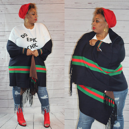 Not Your Ordinary Poncho