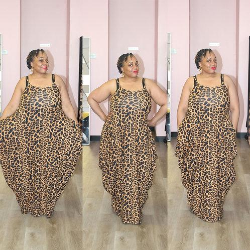 Leopard Maxi-Dress