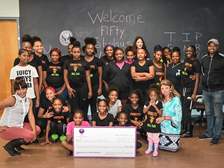 Fifty Fabulous Women Giving Circle presents first grant to Teens in Progress