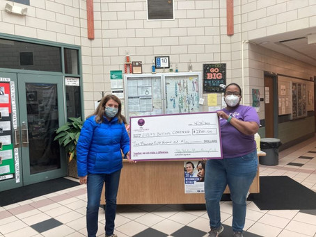 FFWGC members donate $2,800 to Every Bottom Covered