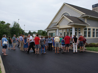 Marblehead Peninsula Branch Opening Day Photos