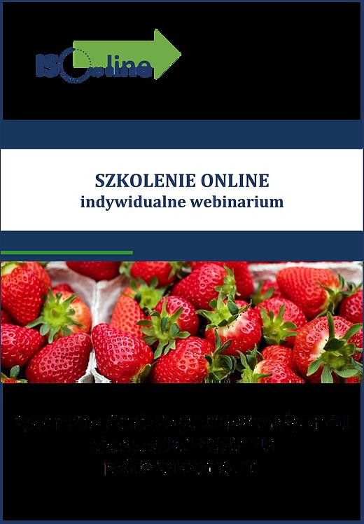 Szkolenie online webinarium ISO 22000:2018 Podstawy i wymagania