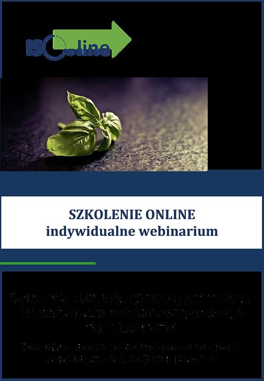 Szkolenie online webinarium IFS Food v.7. Zmiany, wymagania, aktualizacja