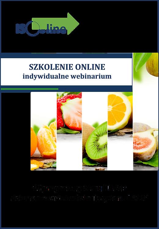 Szkolenie online webinarium HACCP Wymagania i wdrażanie