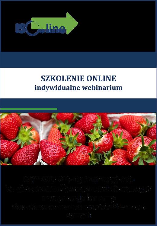 Szkolenie online webinarium ISO 22000:2018 Aktualizacja SZBŻ do nowych wymagań