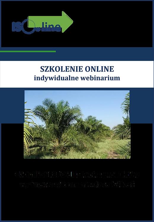 Szkolenie online webinarium RSPO Wymagania i zasady certyfikacji