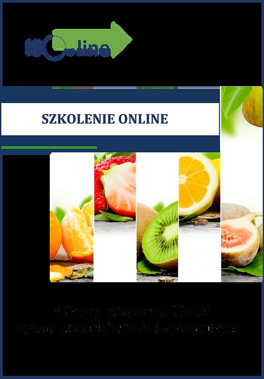 Szkolenie online HACCP/GMP/GHP. Wymagania i wdrażanie
