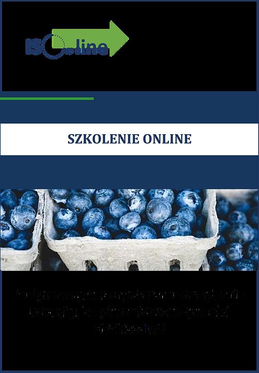 Szkolenie online BRC Food v.8 Audytor wewnętrzny