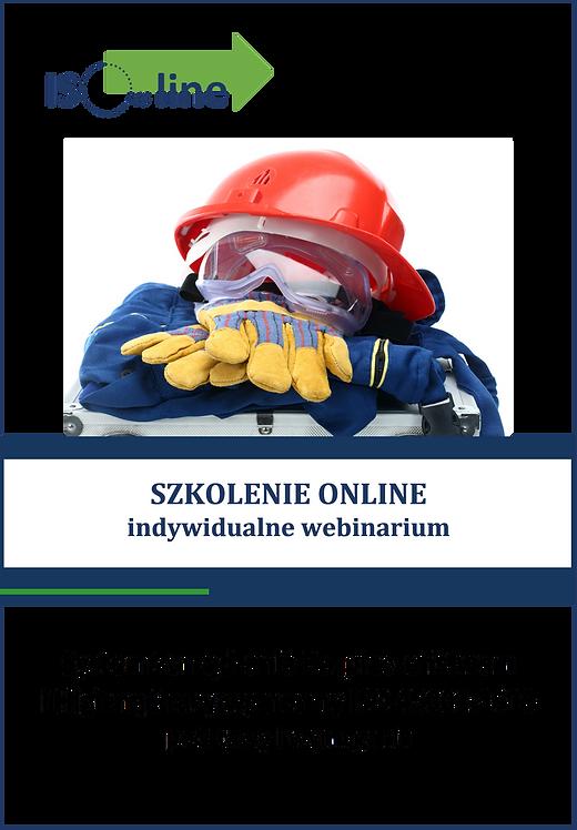 Szkolenie online webinarium ISO 45001:2018 Podstawy i wymagania