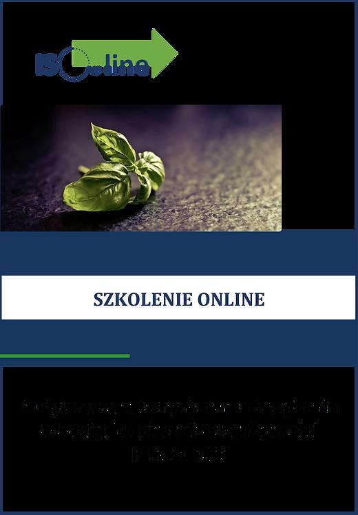 Szkolenie online IFS Food v.6.1 Audytor wewnętrzny