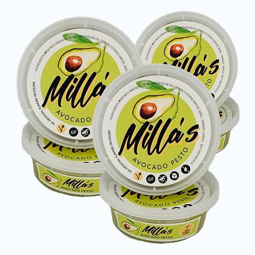 Avocado Pesto Box with 6 containers