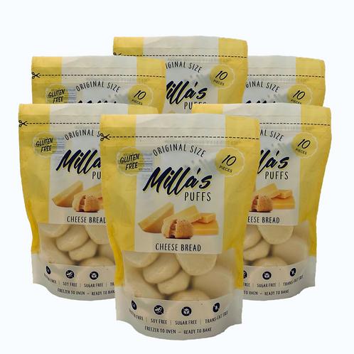 Milla's Puffs Box of 6 Pouches (Original Classic Size)