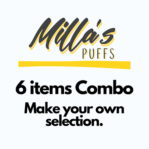 "6 Items Combo /specify your combo selection on the ""add a note"" section."