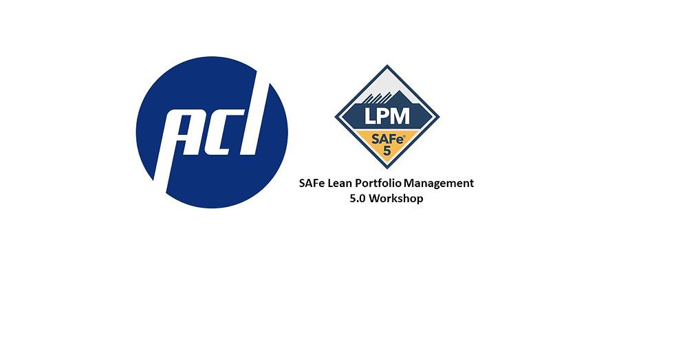 Lean Portfolio Management Workshop 5.0.1