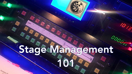 Online Stage Management courses The Bamboo Manager Project