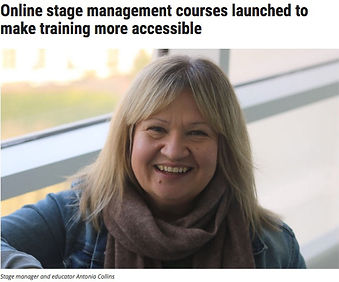 Online Stage Management Training, The Bamboo Manager Project, Stage Manager, Theatre