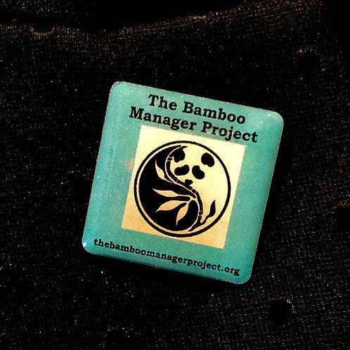 Bamboo Manager Project Pin Badge