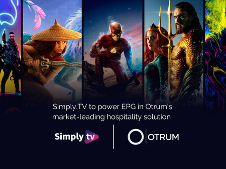 Simply.TV to power EPG in Otrum's market-leading hospitality solution