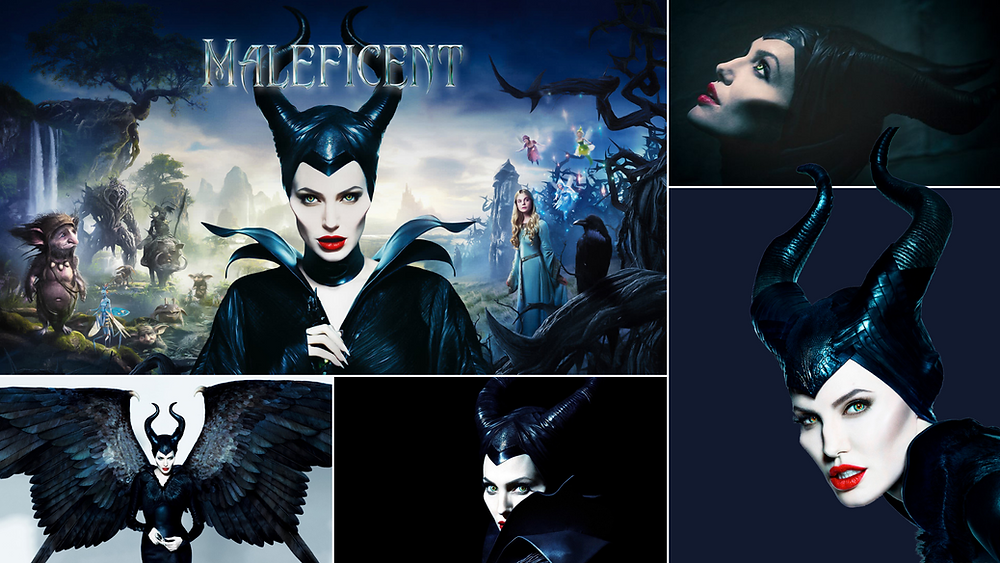 Maleficent featuring Angelina Jolie, Disney movie 2014 in images for TV metadata supplying
