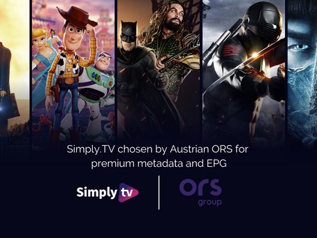 ORS signs multi-year deal with Simply.TV for advanced metadata and EPG