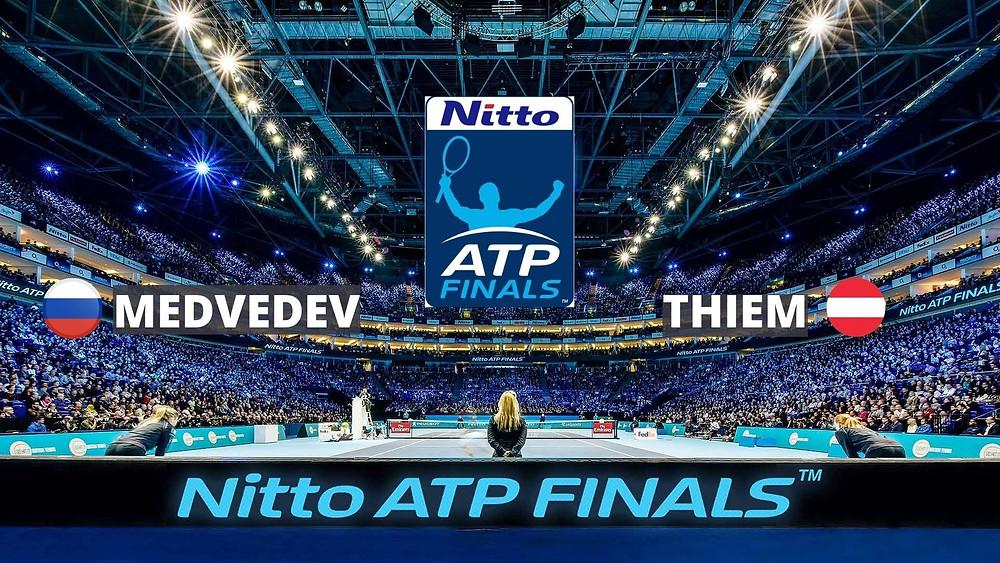 Sports Images Metadata, Composite images for Nitto ATP Finals, MEDVEDEV vs THIEM