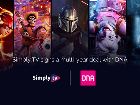 DNA signs with Simply.TV for metadata and advanced content discovery.