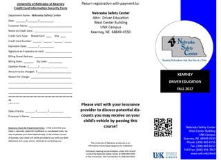 Nebraska Safety Center- DRIVER EDUCATION INFORMATION