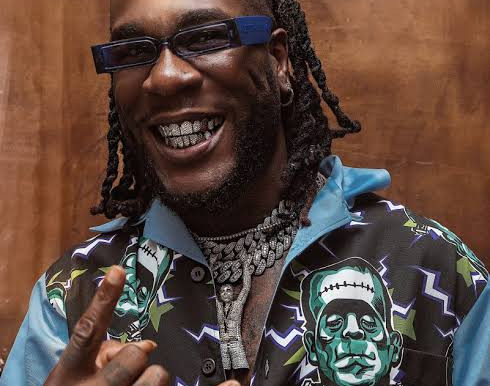 Nigerian Superstar Burna Boy Nominated For Another Global Award