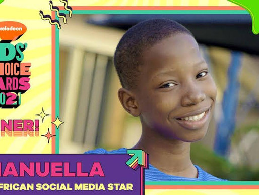 Nigeria's Child Comedian, Emmanuella, Clinches Top Prize at Nickelodeon Kids Choice Awards
