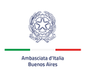 LOGO EMBAJADA ITALIA - Verticale - Posit