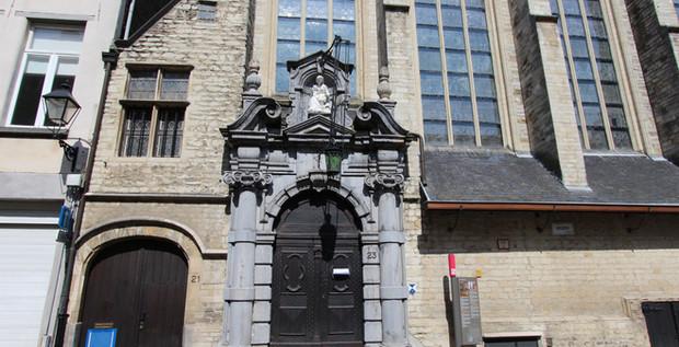 Sint-Annakapel Keizerstraat Antwerpen