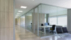 parete doppio vetro doppio vetro parete divisoria elleduemila ligna2000 arredamento ufficio WGL2100