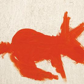 Orange Italian Dog