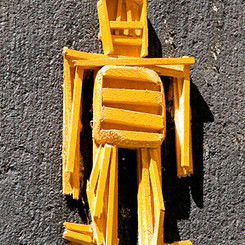 Yellow Stickman