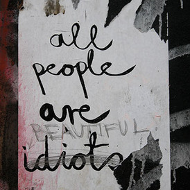 All People Are (Beautiful) Idiots