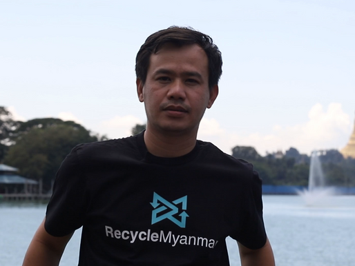 This Innovative Recycler is Making an Impact in Myanmar