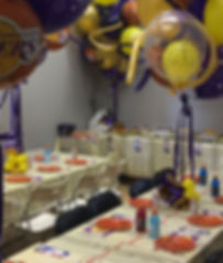 Party Room - Birthday Party at JEM