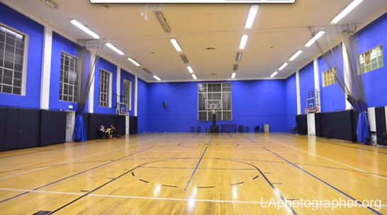 Indoor Basketball Court Beverly Hills Los Angeles JEM Community Center